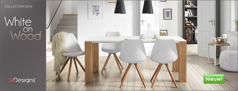 Nieuw van 24Designs: White-On-Wood