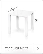 Op zoek naar een tafel op maat? Kijk hier